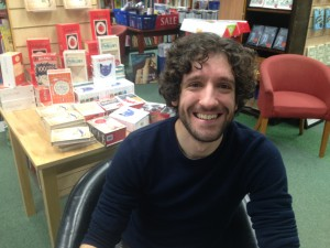 Greg Jenner at Heffers